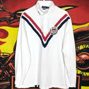 Polo Ralph Lauren Rugby Long Sleeve Polo Shirt USA